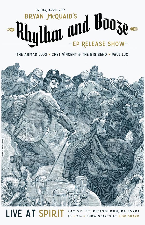 Bryan McQuaid EP Release Show - Maiocco Design Co.