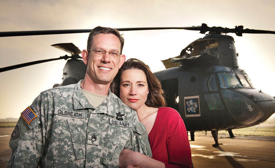Military Spouse of the Year Christine Gilbreath Casual Shoot