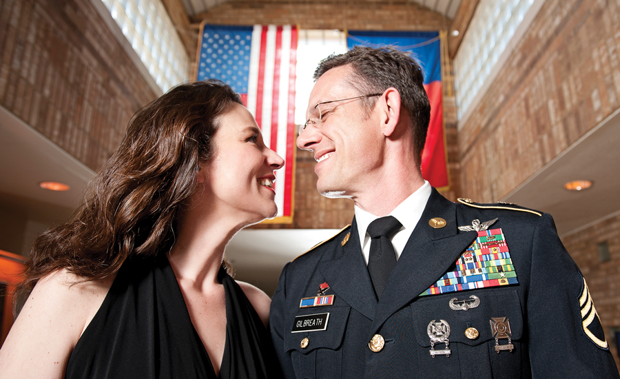 Military Spouse of the Year Christine Gilbreath Formal Shoot