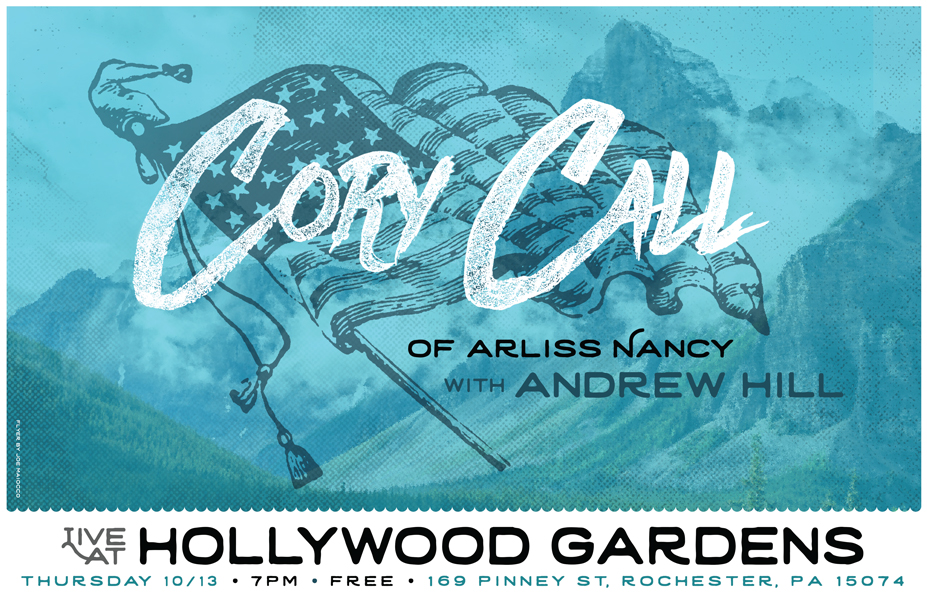 Cory Call Andrew Hill Gig Poster - Maiocco Design Co.