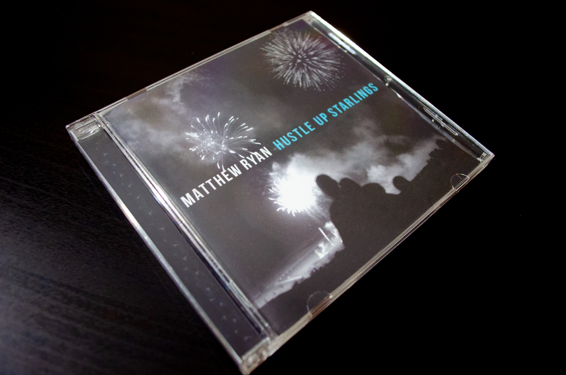Matthew Ryan Hustle Up Starlings Cd Jewel Case Cover