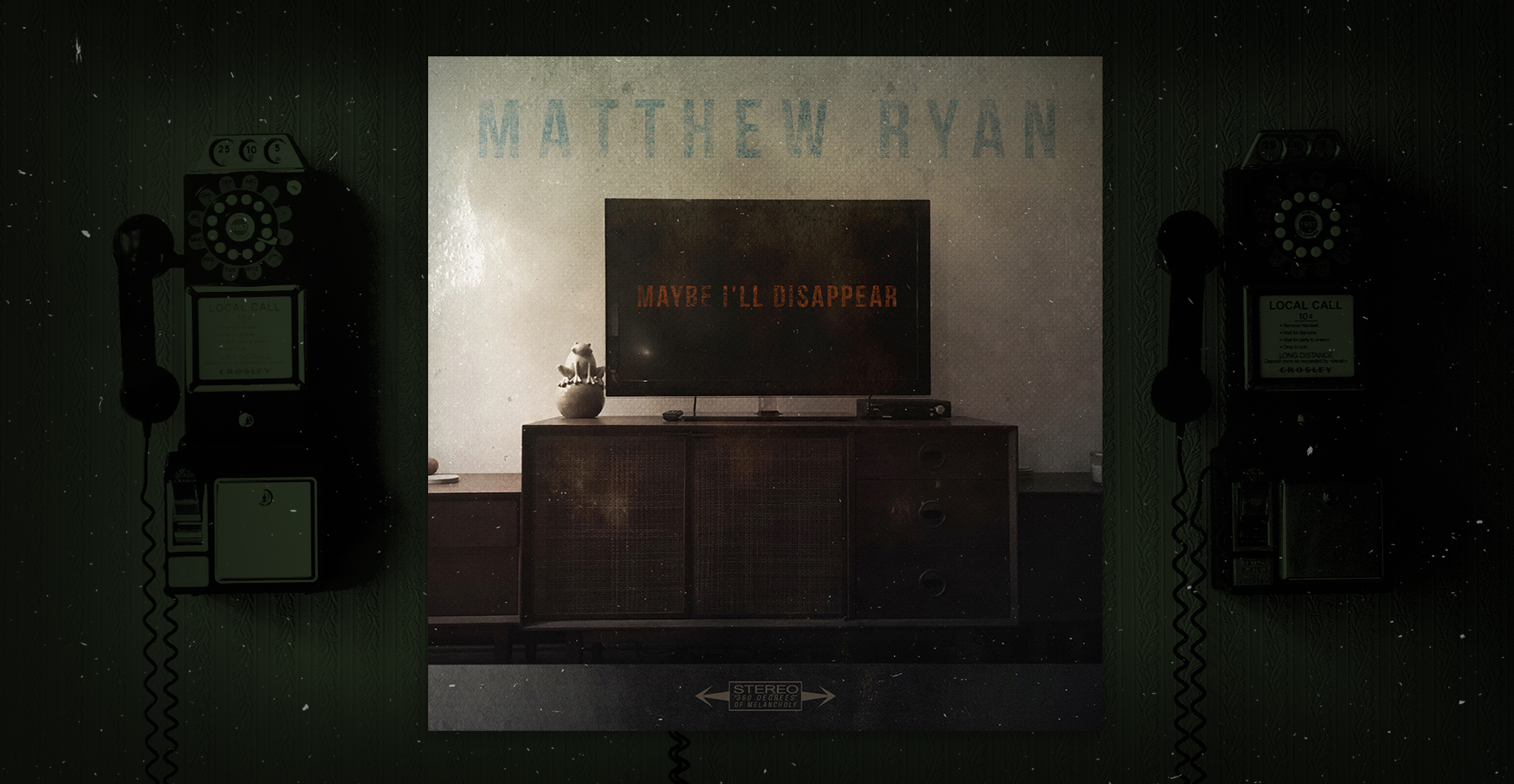 Matthew Ryan Maybe I'll Disappear Spotify Single