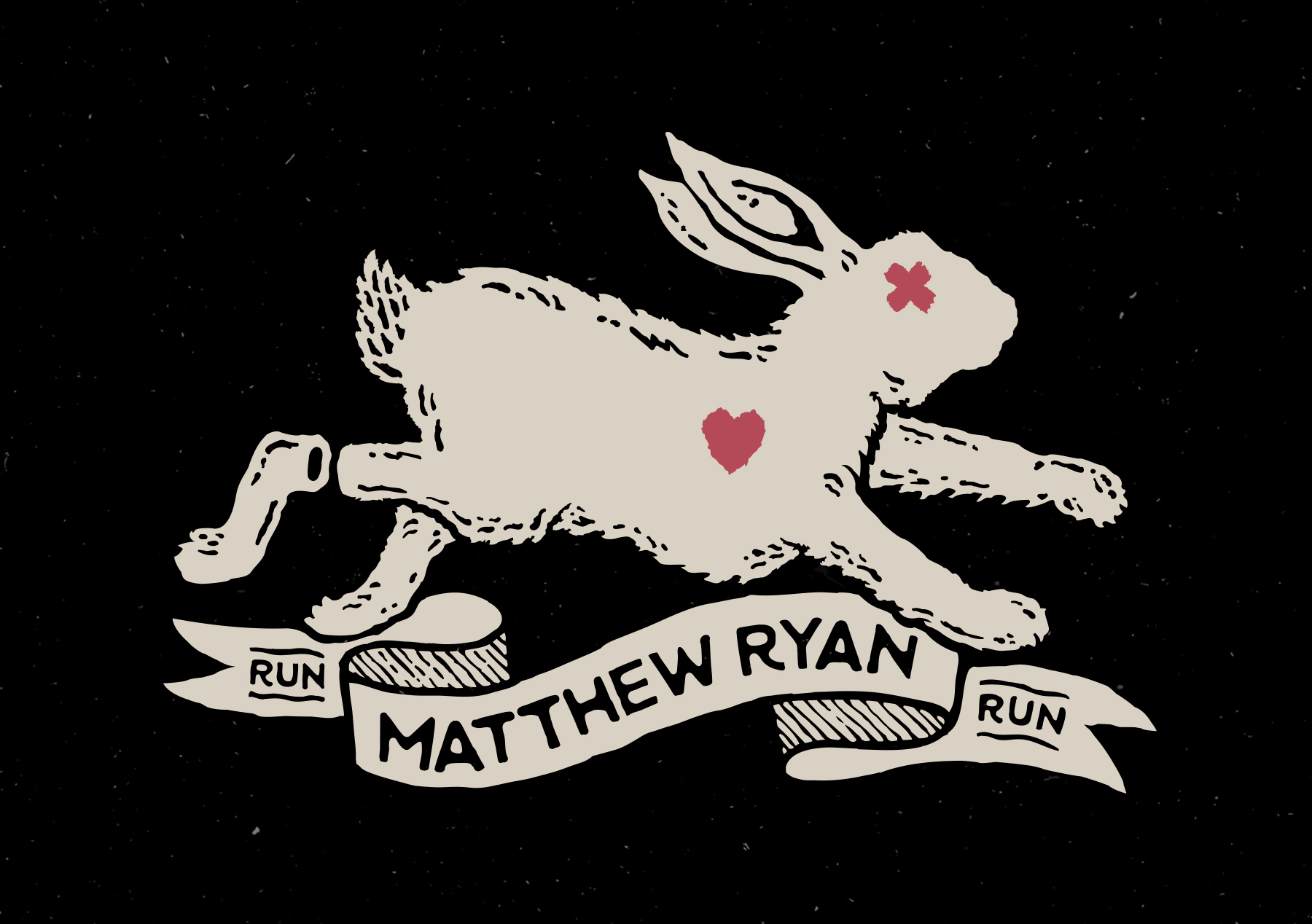 Matthew Ryan Run Rabbit Run Shirt Design