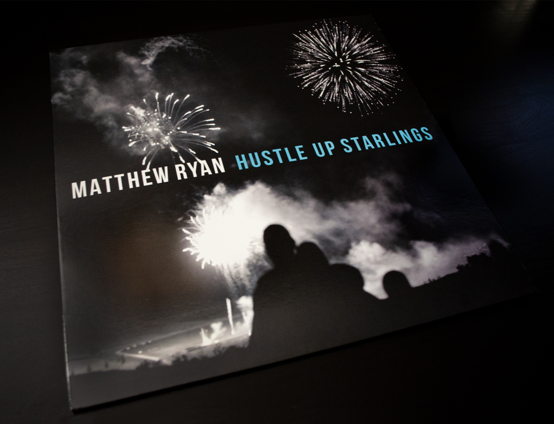 Matthew Ryan Hustle Up Starlings Front Cover Vinyl