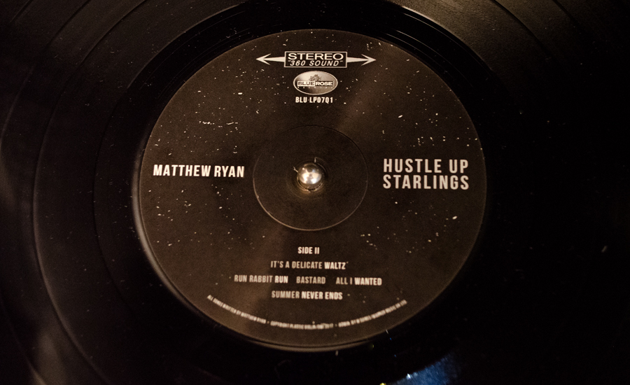 Matthew Ryan Hustle Up Starlings Side B Vinyl