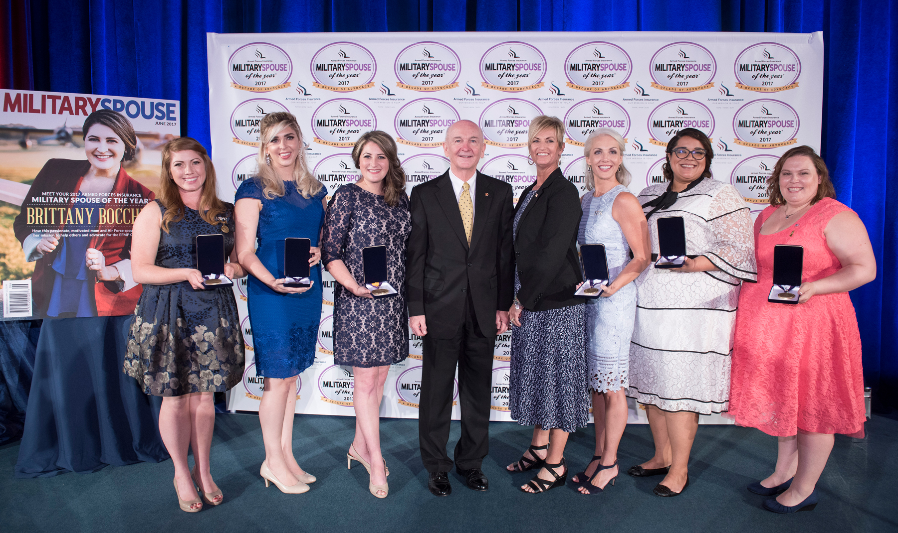 2017 Armed Forces Insurance Branch Spouses of the Year