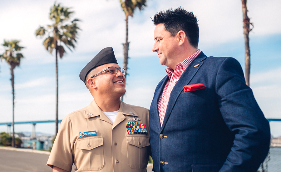 Military Spouse of the Year Brian Alvarado Casual