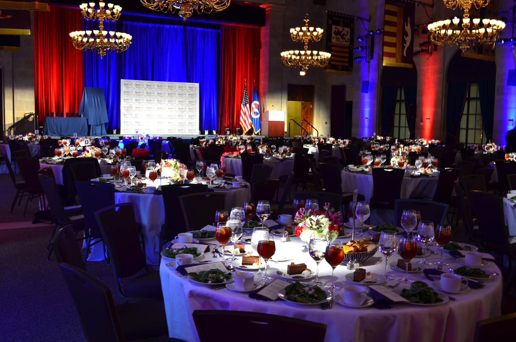 2017 Event Floor - AFI Military Spouse of the Year Event - Chamber of Commerce