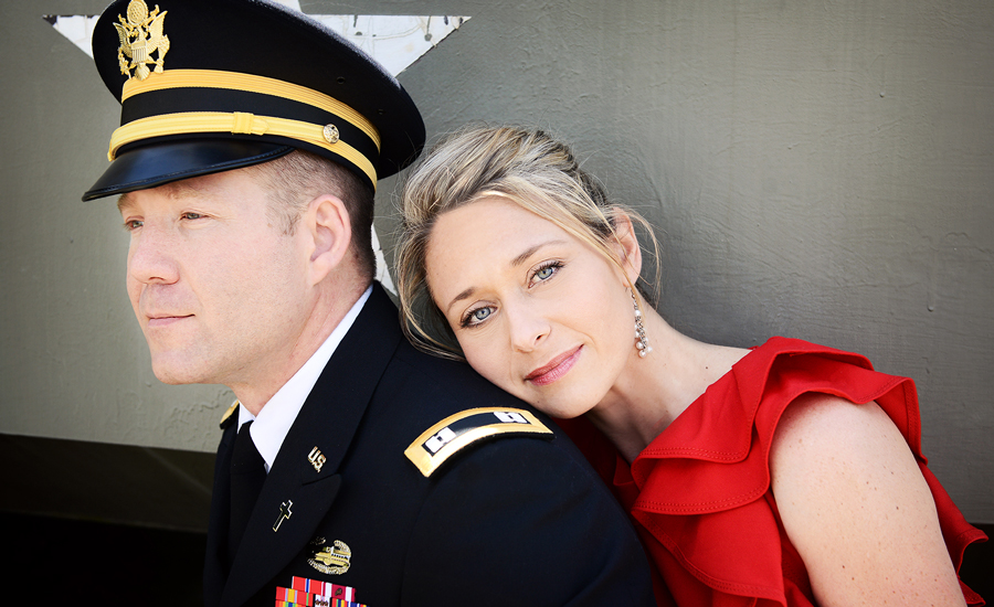Military Spouse of the Year Corie Weathers Formal