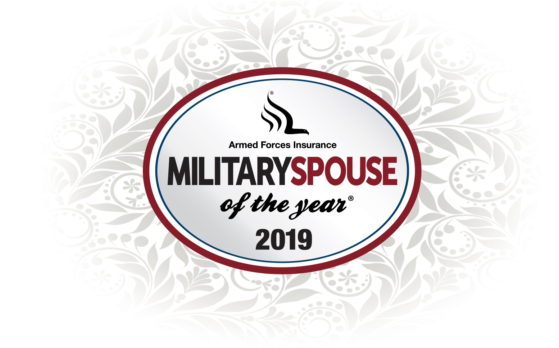 2019 Armed Forces Insurance Military Spouse of the Year Logo