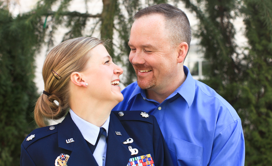 Military Spouse of the Year Jeremy Hilton Formal