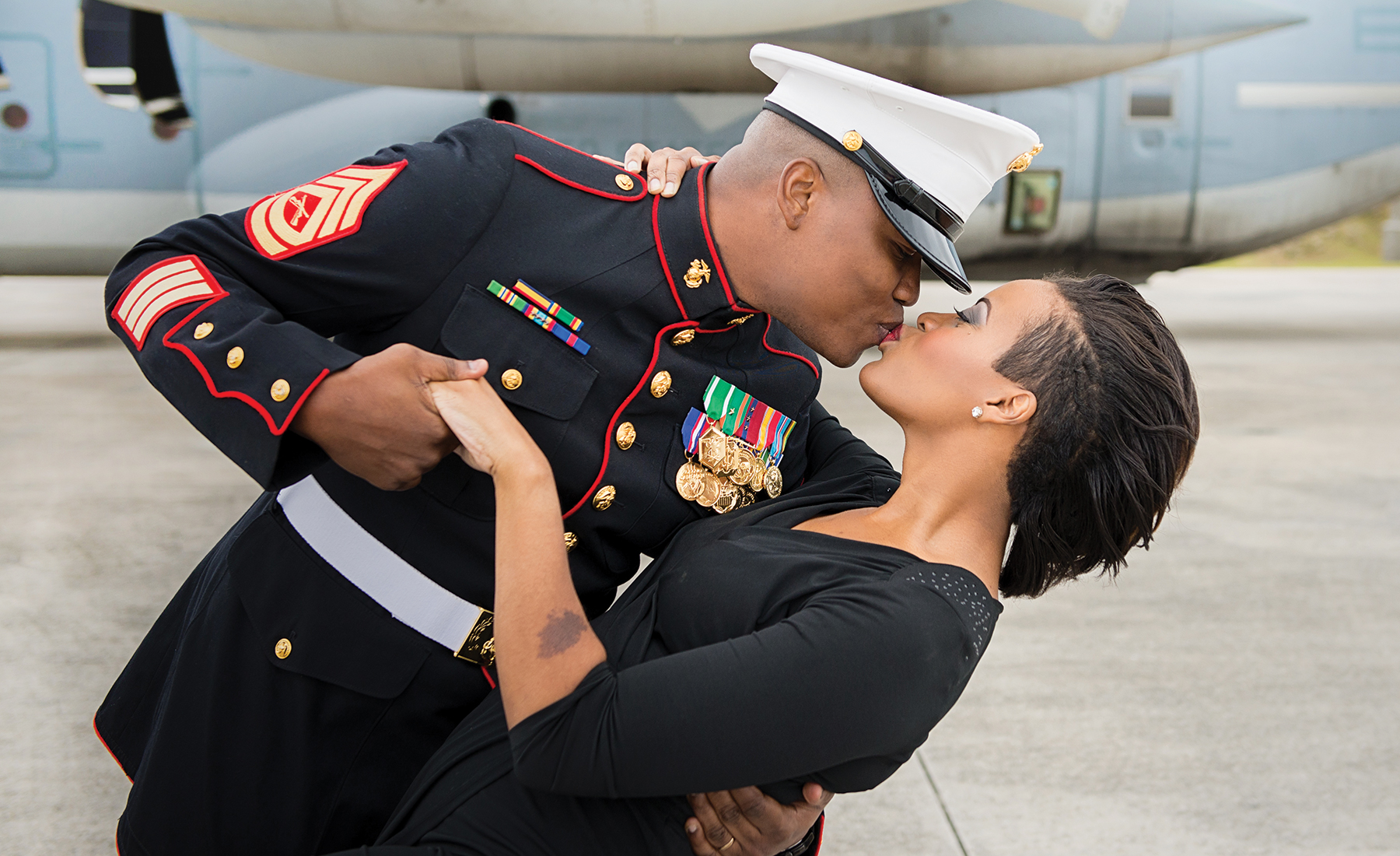 Military Spouse of the Year Lakesha Cole Formal Shoot