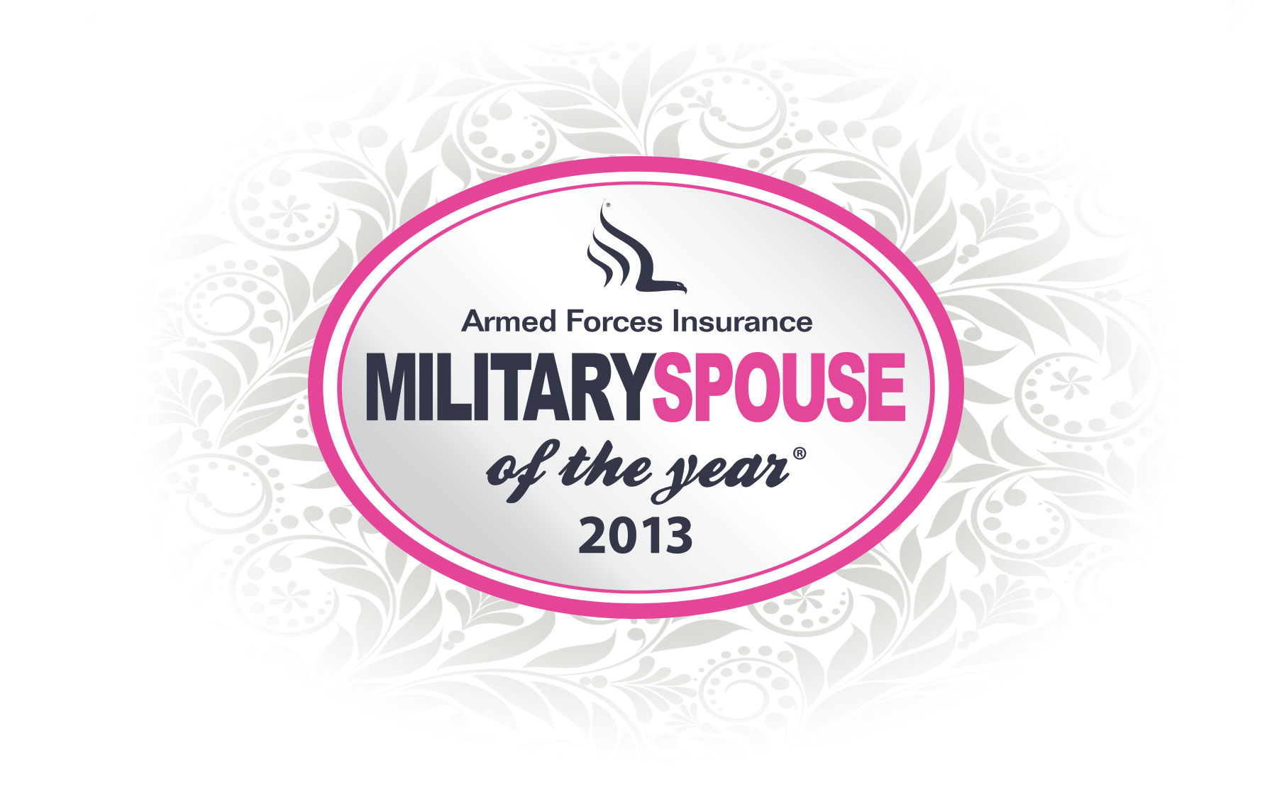 Armed Forces Insurance Military Spouse of the Year Logo redesign