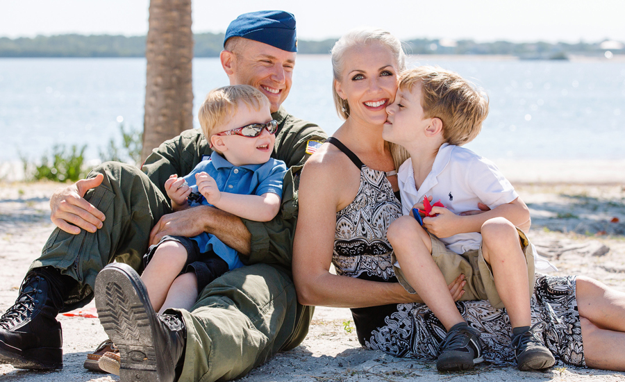 Military Spouse of the Year Mary Nelson Casual