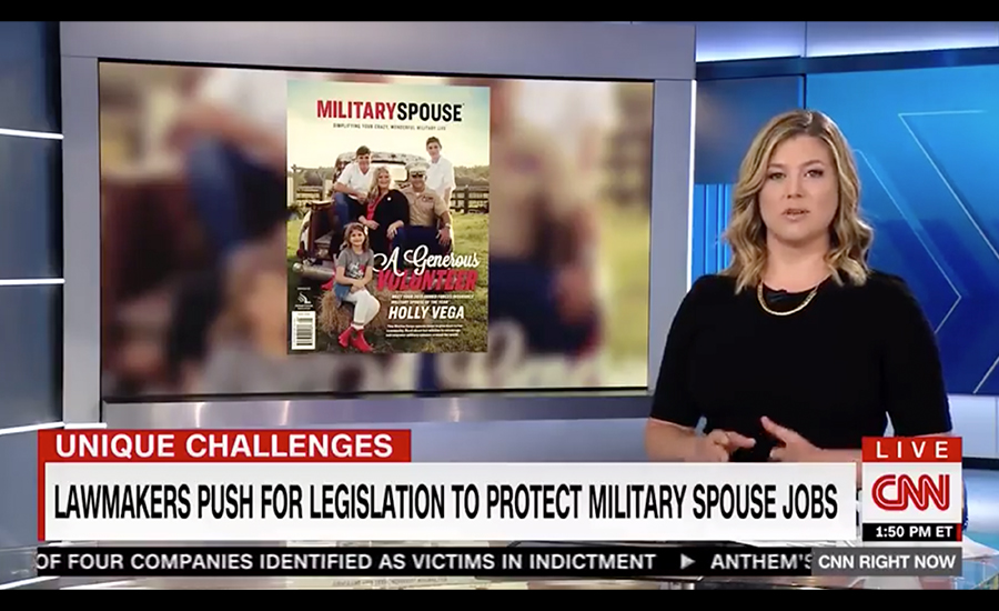 2019 Military Spouse of the Year Holly Vega on CNN