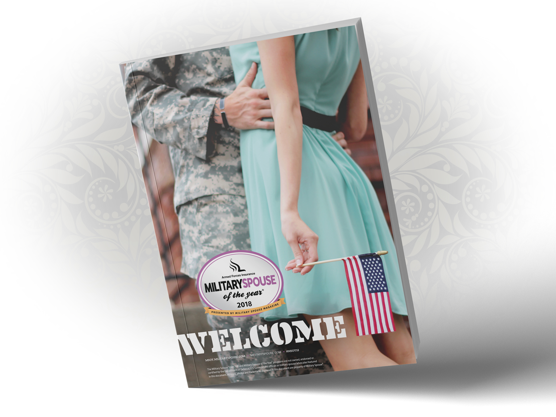 AFI Military Spouse of the Year Nomination Kit - Cover