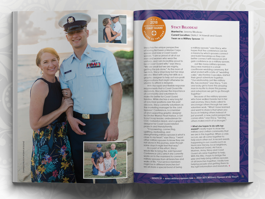 AFI Military Spouse of the Year Program Guide - Branch Bio