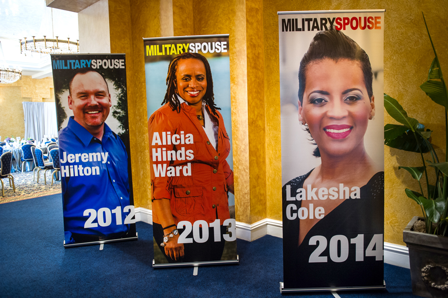 AFI Military Spouse of the Year - Retractable Banners of Winners - 2