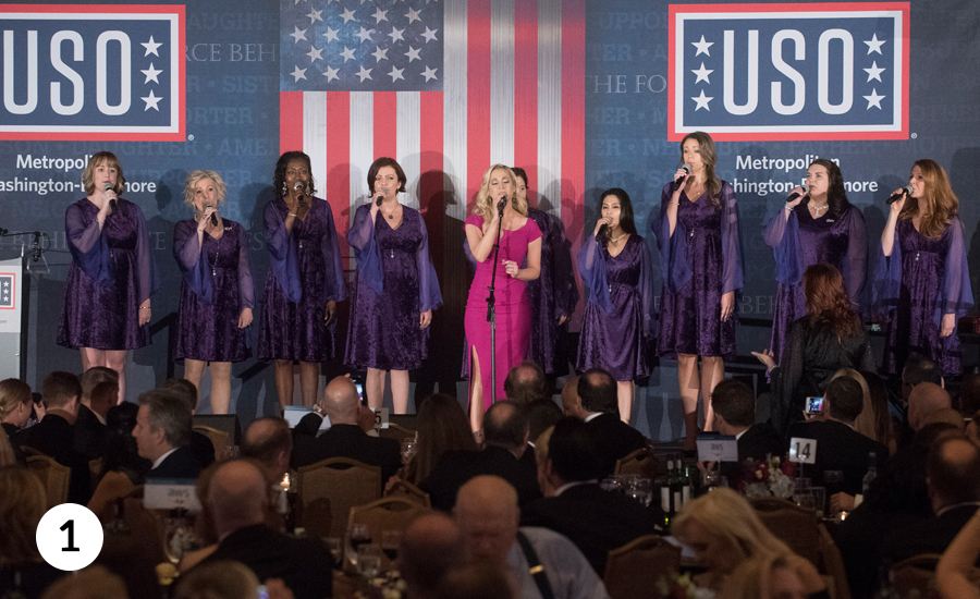 The American Military Spouse Choir with Kellie Pickler