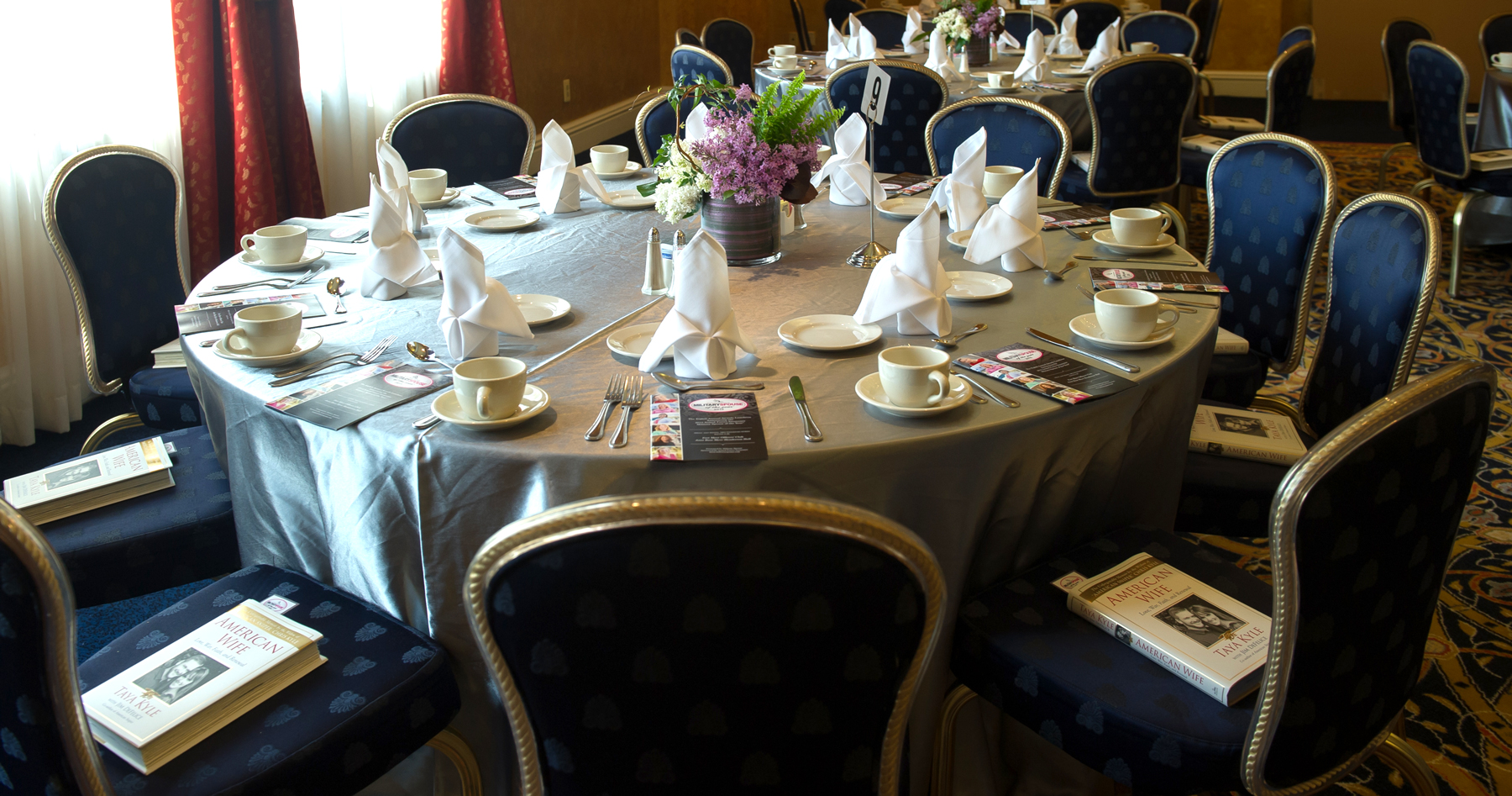 AFI Military Spouse of the Year 2015 Table Setting