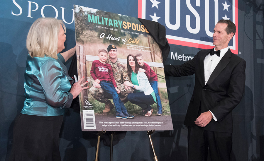 2018 Armed Forces Insurance Military Spouse of the Year Winner Reveal