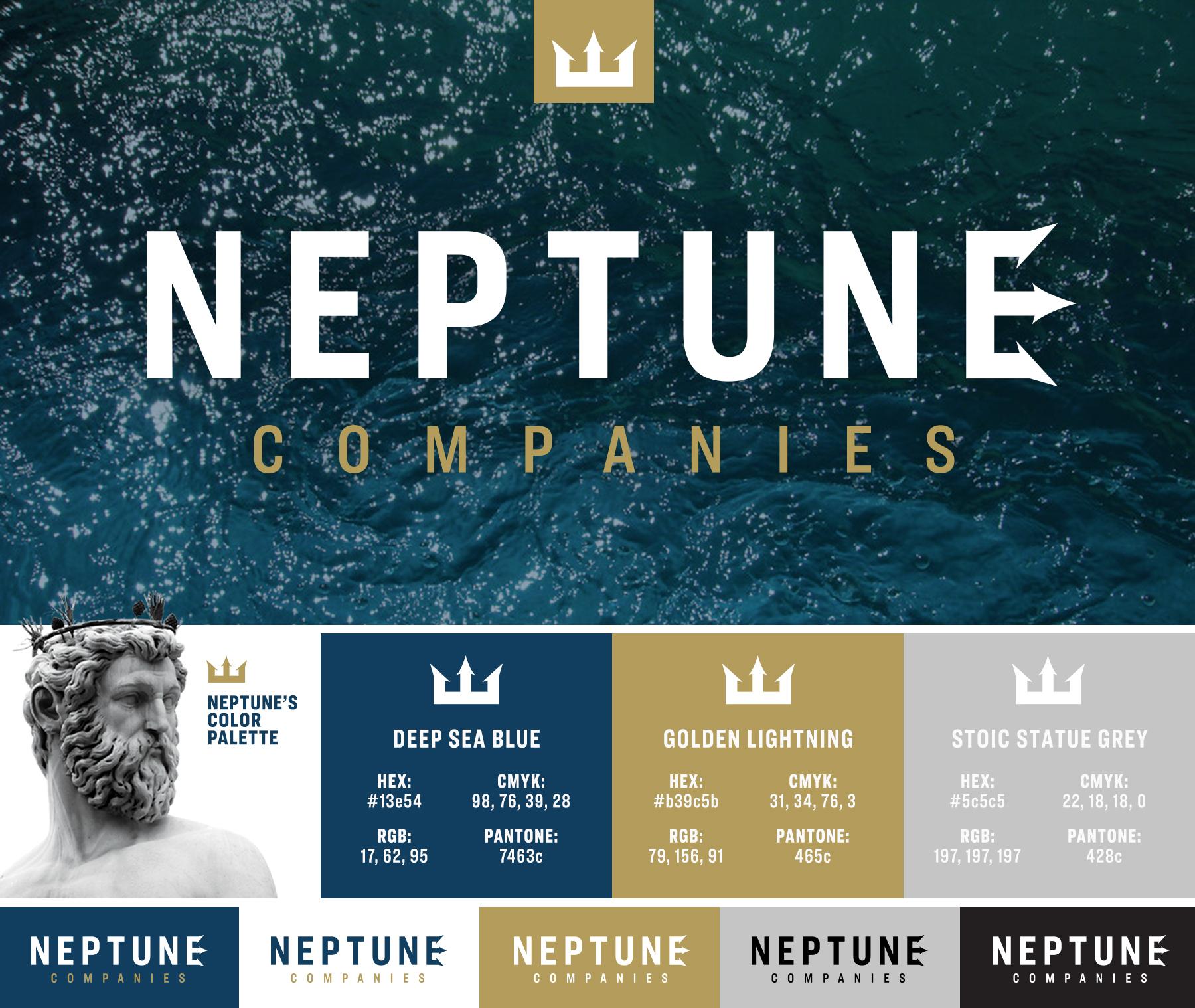 Neptune Companies' Color Palette