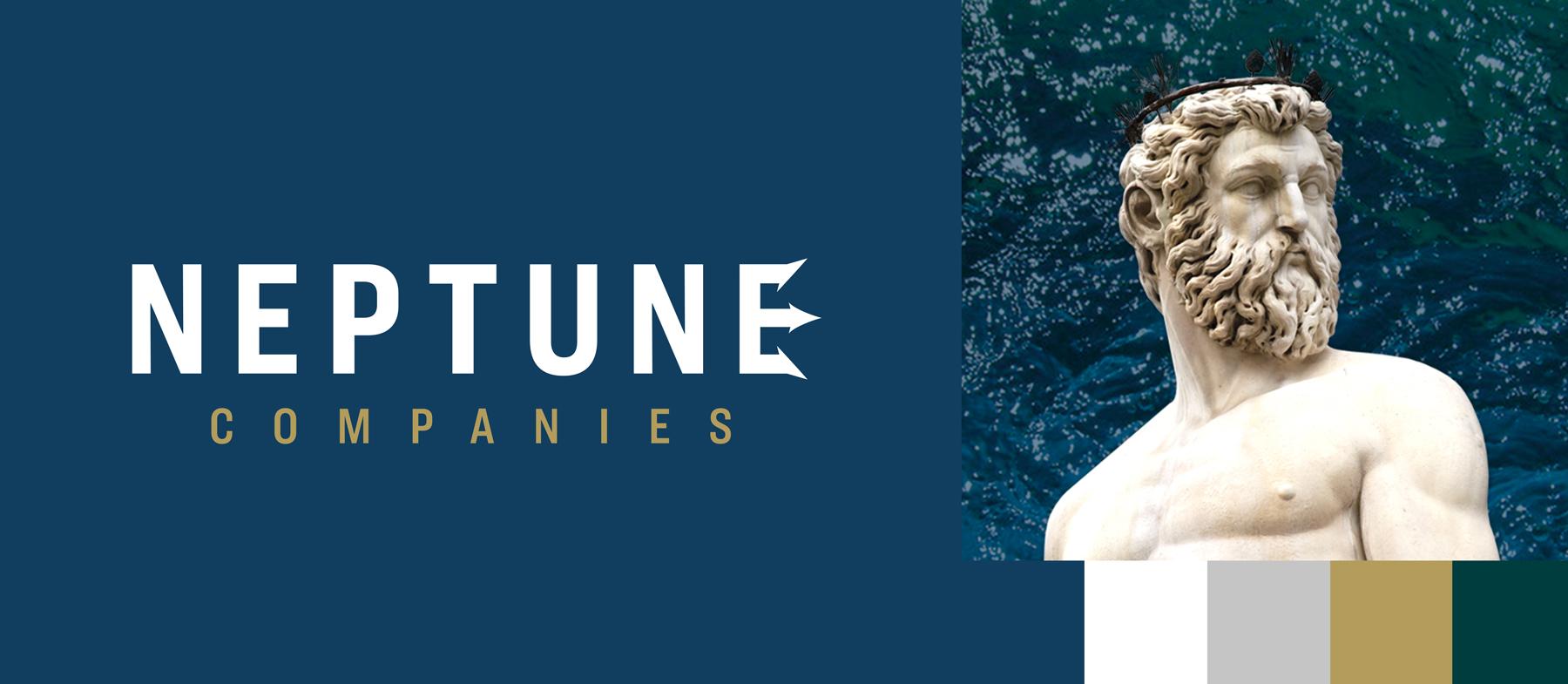 Neptune Companies Logo Maiocco Design Co.