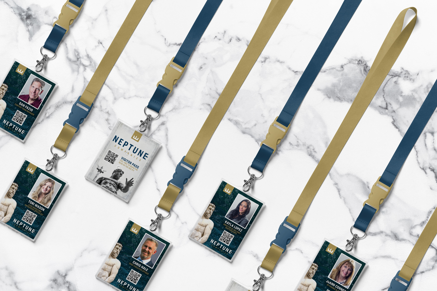 Neptune Companies' ID Laynard