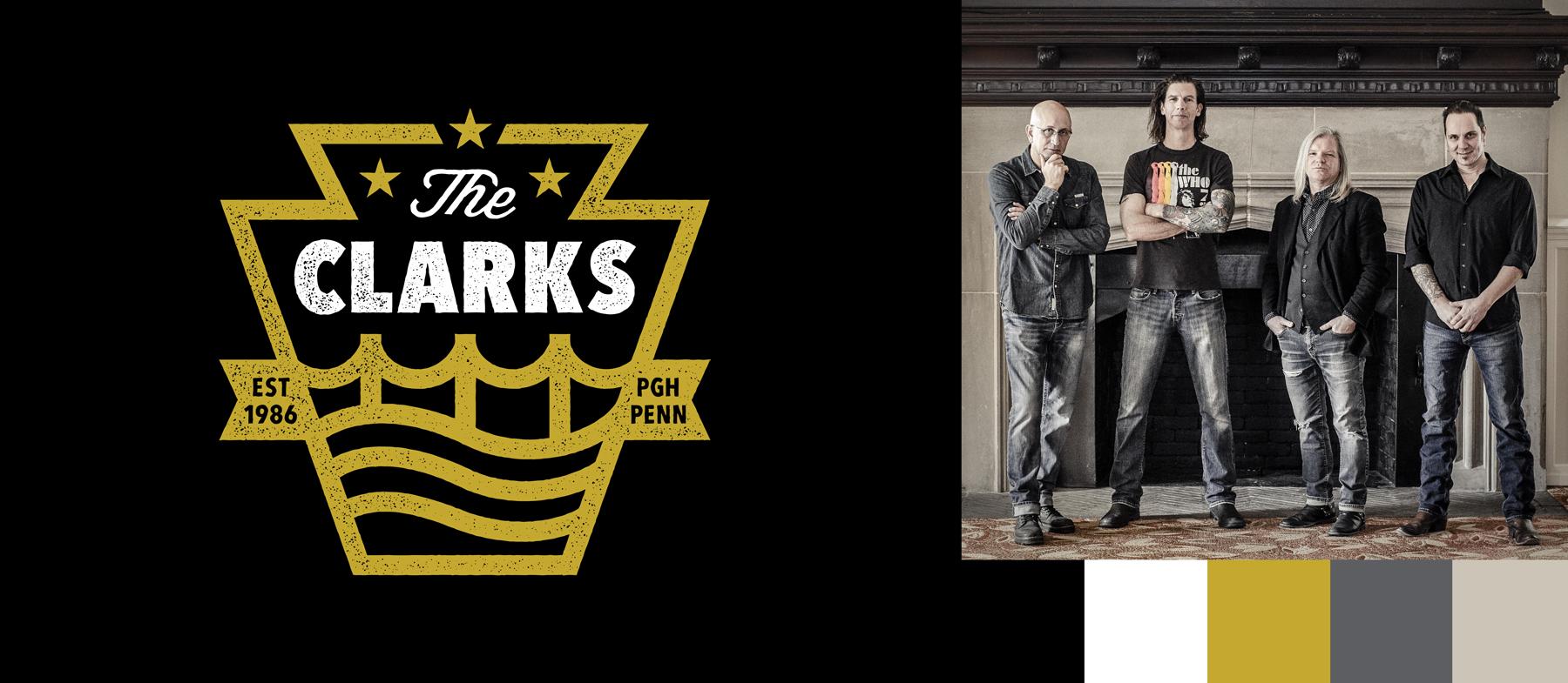 The Clarks Logo Maiocco Design Co.