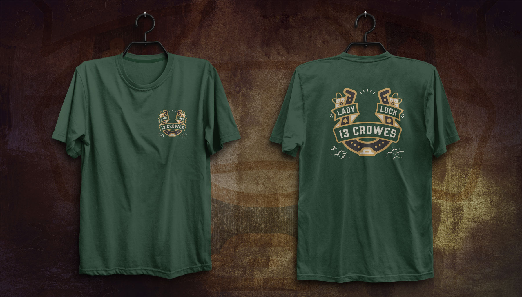 13 Crowes Lady Luck Shirt