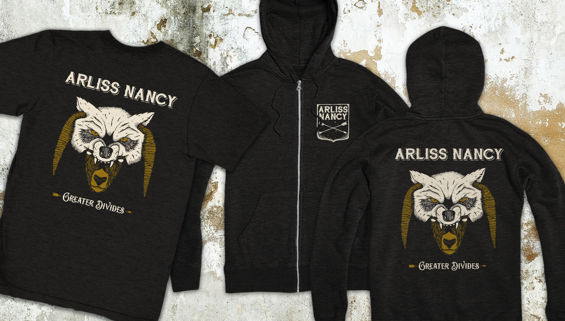 Arliss Nancy Greater Divides Merch