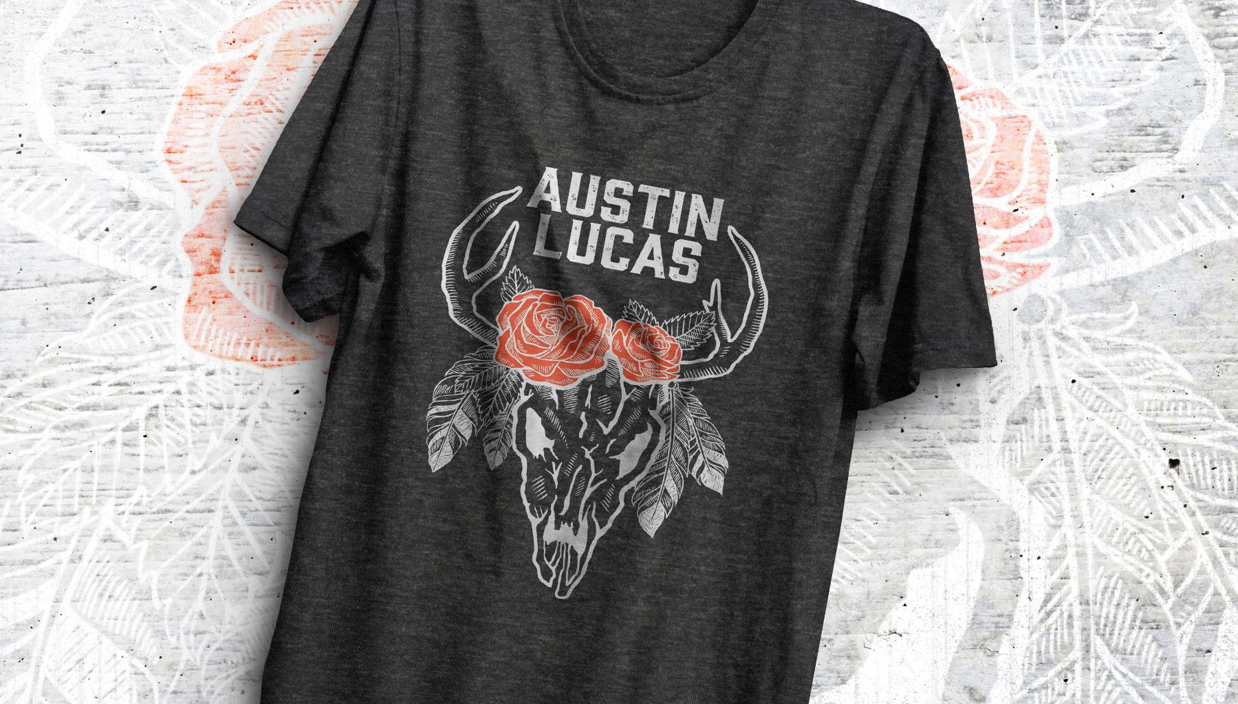 Austin Lucas Deer Skull Shirt