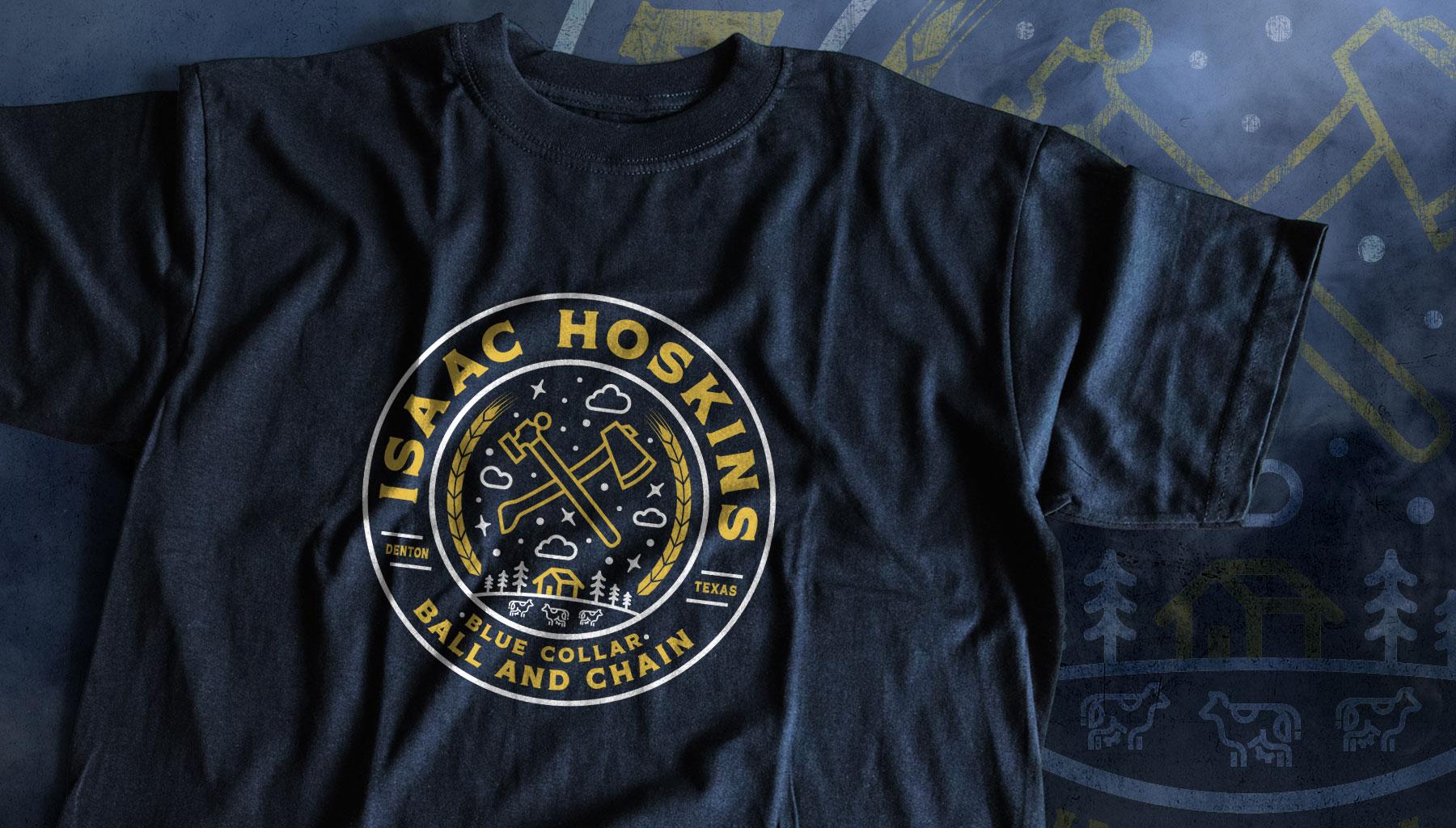 Isaac Hoskins Shirt Ball and Chain