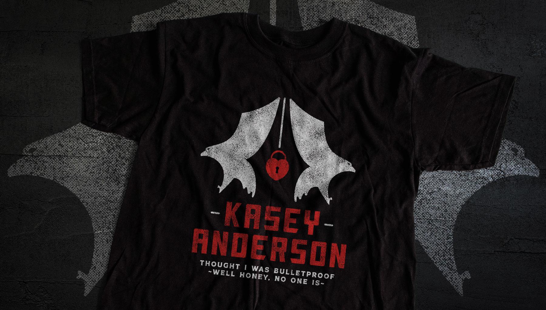 Kasey Anderson Hawks Shirt