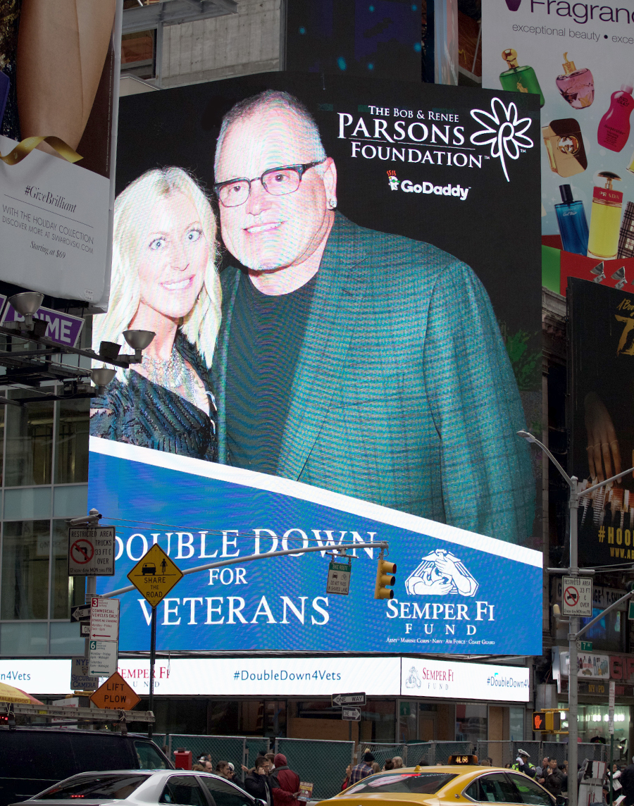 Semper Fi Fund Bob Renee Parsons Go Daddy