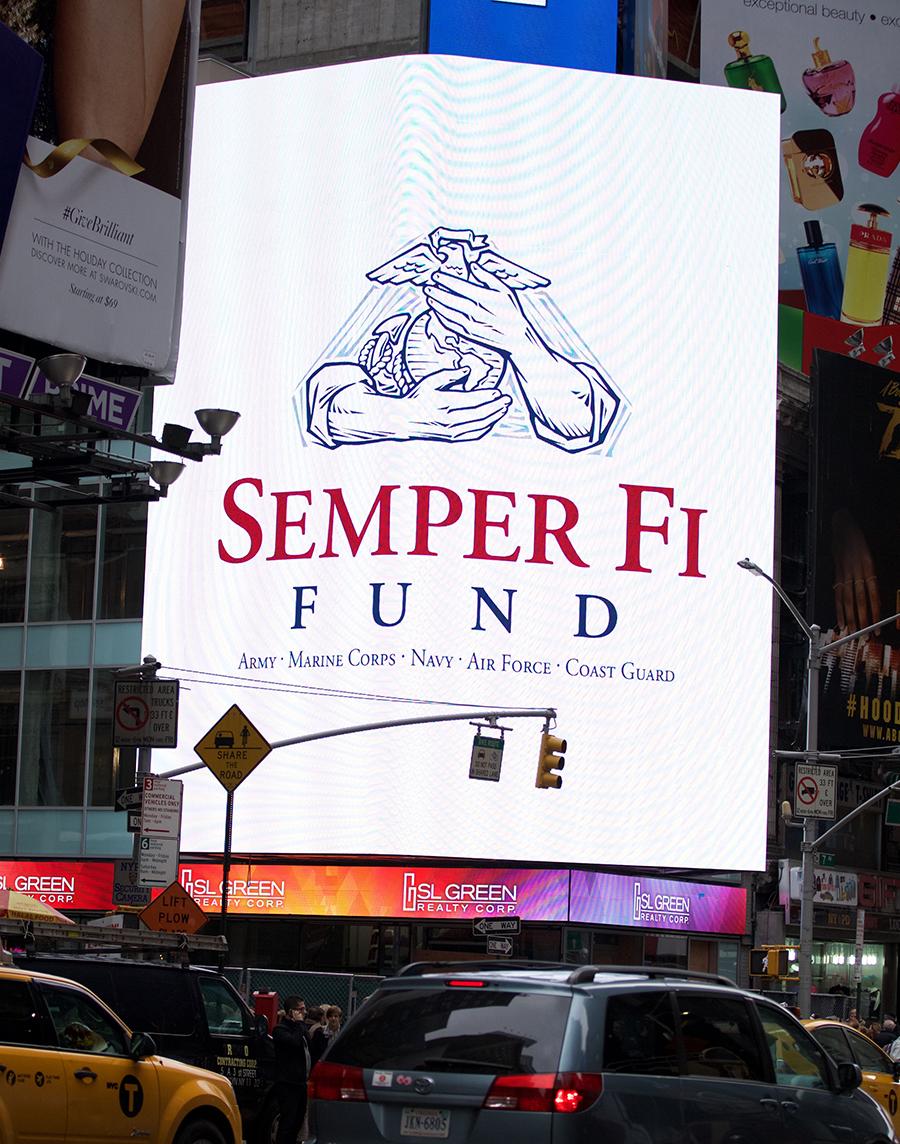 Main Sign Semper Fi Fund
