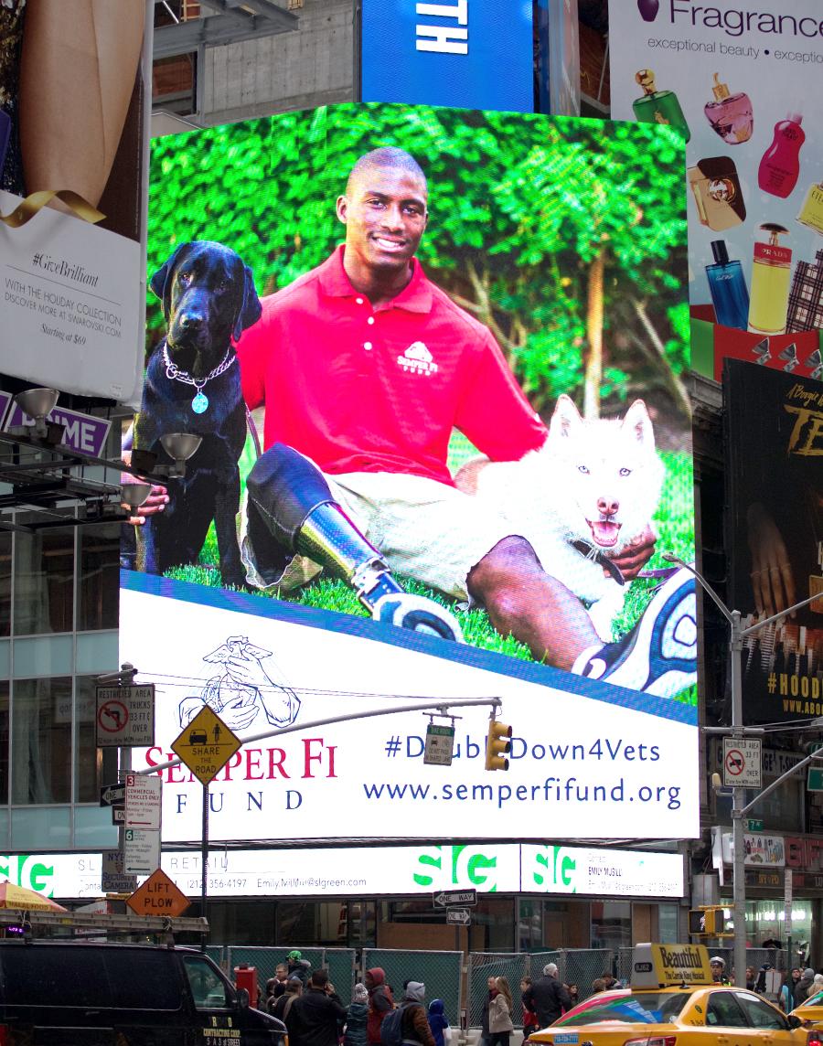 Semper Fi Times Square Puppers