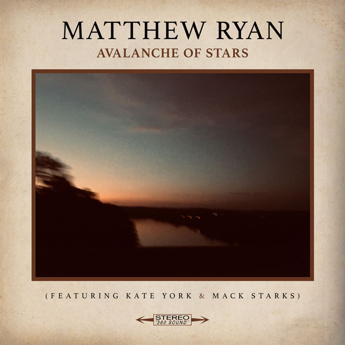 Matthew Ryan Avalanche of Stars Cover Maiocco Design Co.