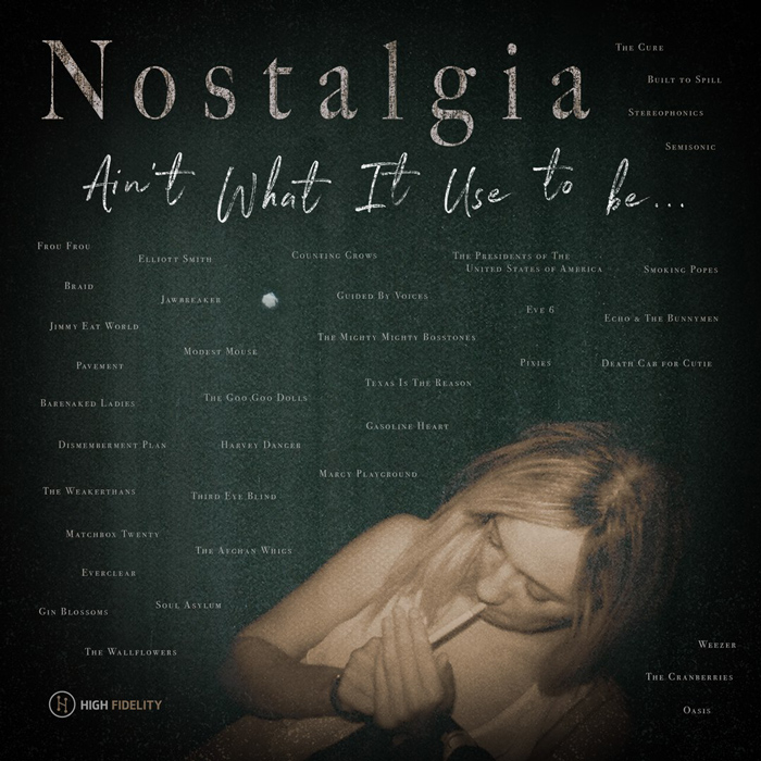 Nostalgia Ain't What It Use To Be Cover