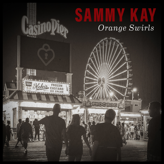 Sammy Kay Orange Swirls Cover
