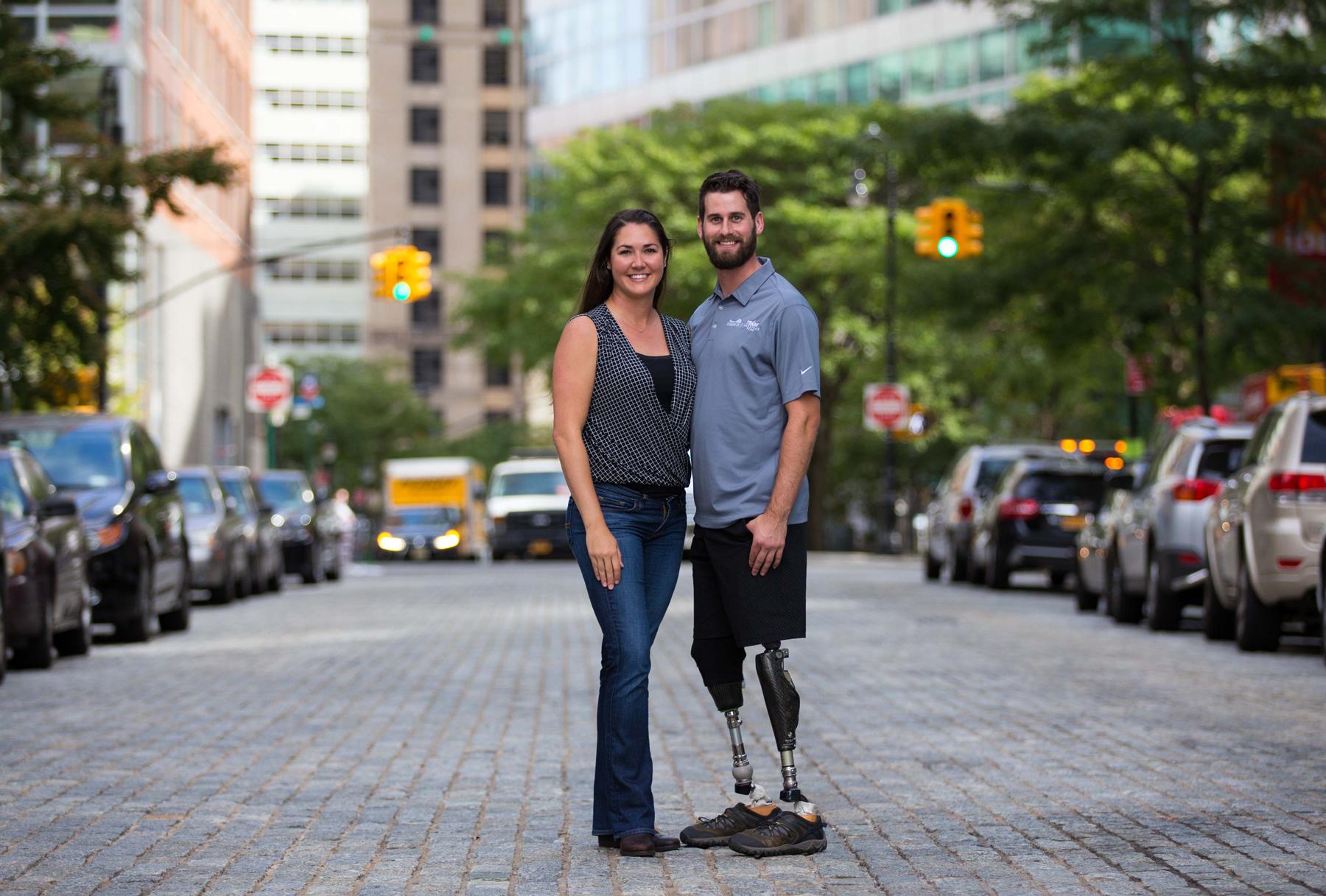 Military Spouse Semper Fi Fund Couple