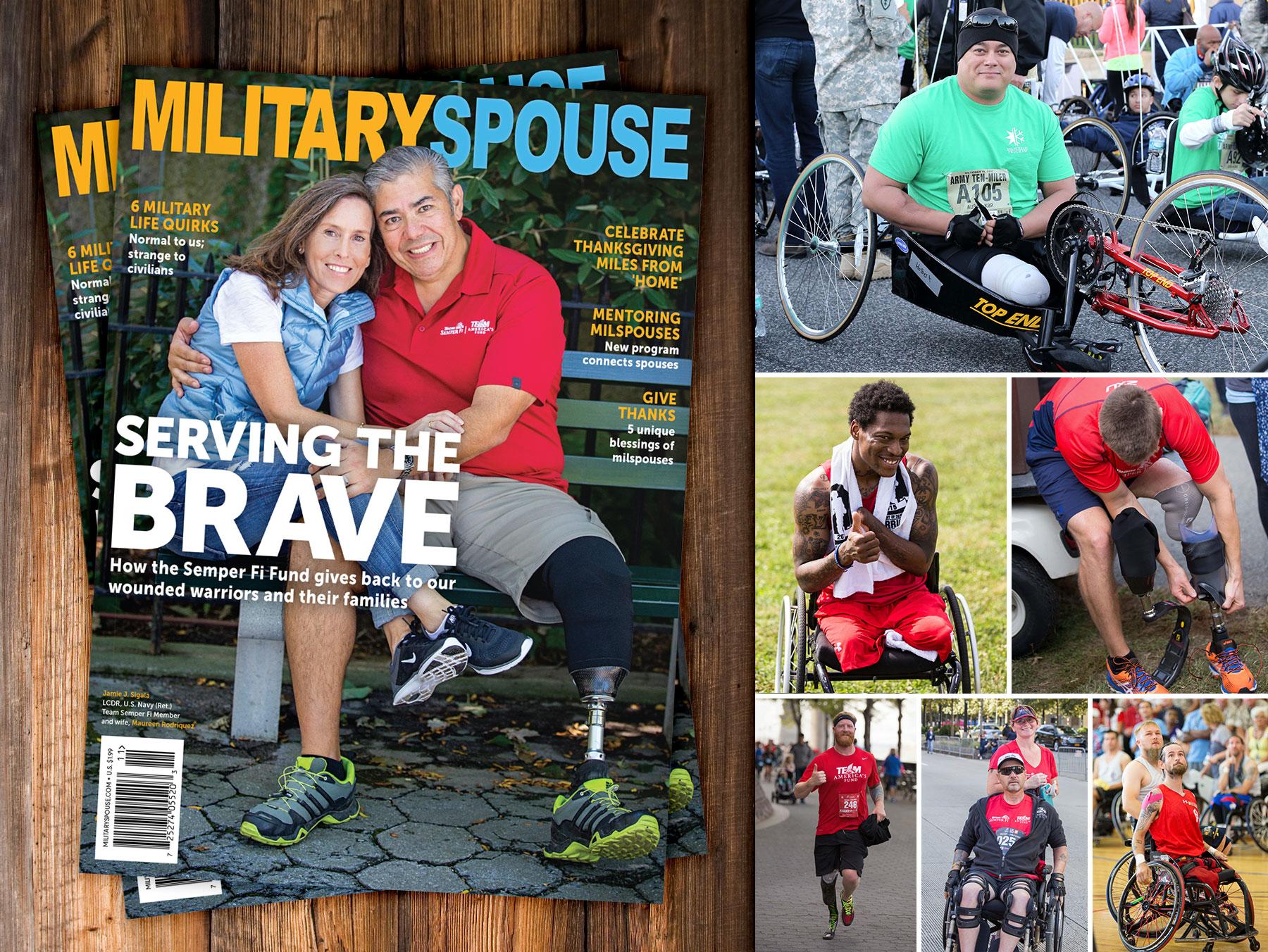 Military Spouse Semper Fi Fund Magazine