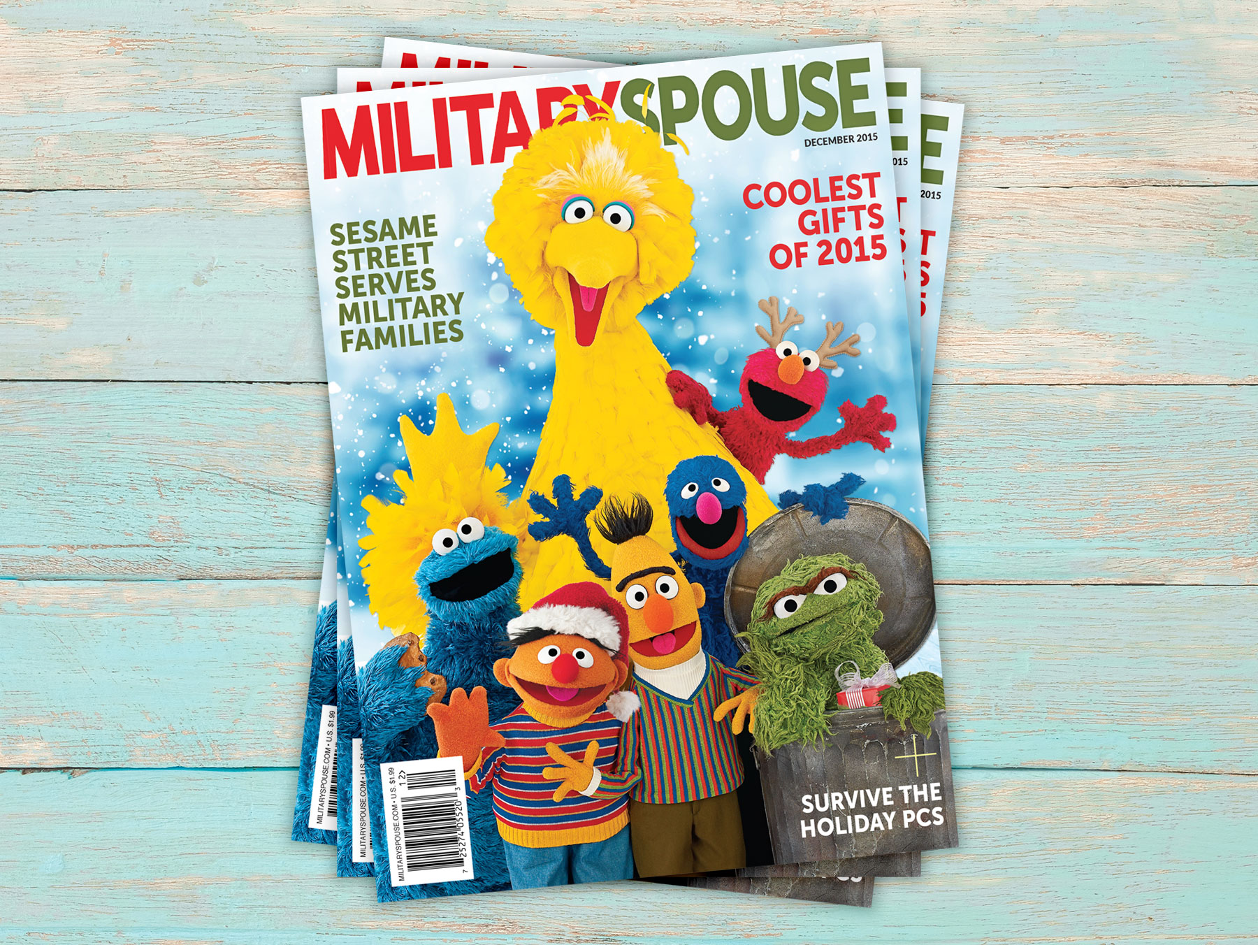 Sesame Street Military Spouse Magazine