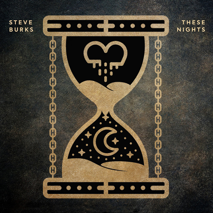 Steve Burks These Nights Cover