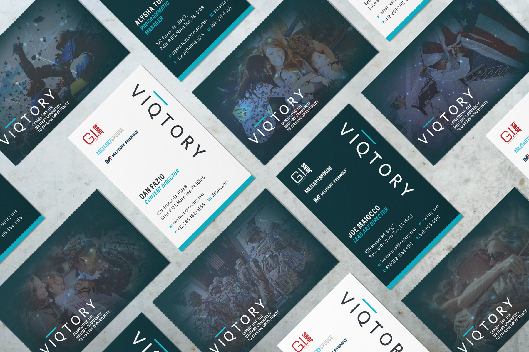 VIQTORY Business Cards