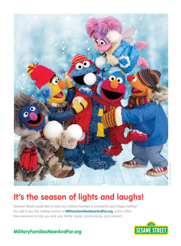 Sesame Street Season of Lights Ad