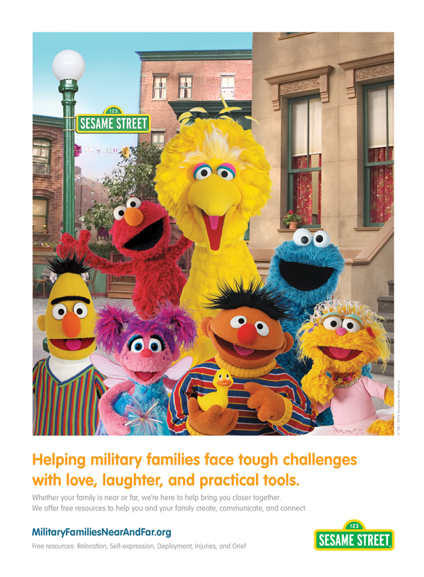 Sesame Street Tough Challenges Ad